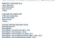 امنیت فایل wp-config با استفاده از htaccess